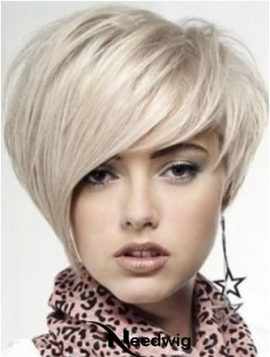 Human Hair Lace Front Wigs UK Short Length Boycuts