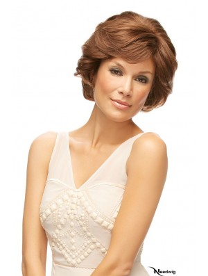 Auburn Chin Length Wavy Bobs Lace Front Wig Sales Online