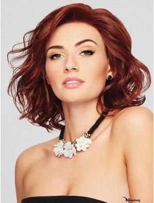 Chin Length Wavy Auburn 12 inch Buy Lace Online