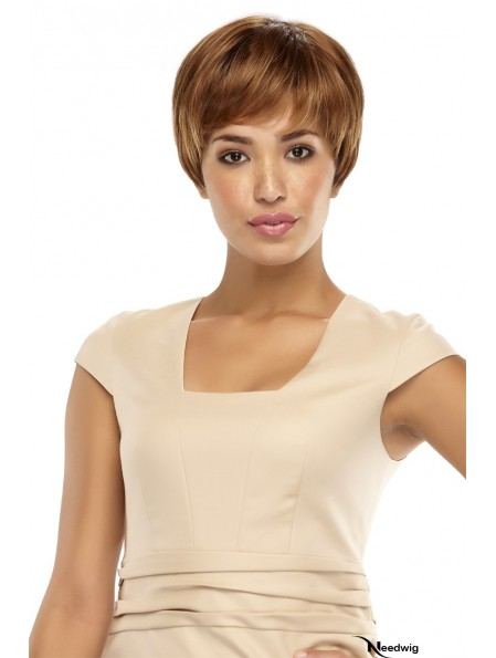 UK Cheap Synthetic Wigs UK With Capless Boycuts Short Length