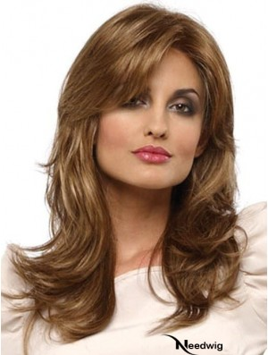 Long Lace Front Brown 16 inch Classic Cap Wigs