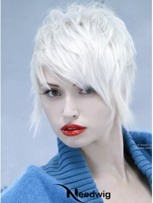 Full Lace Boycuts Short Straight 8 inch Best Fashion Wigs
